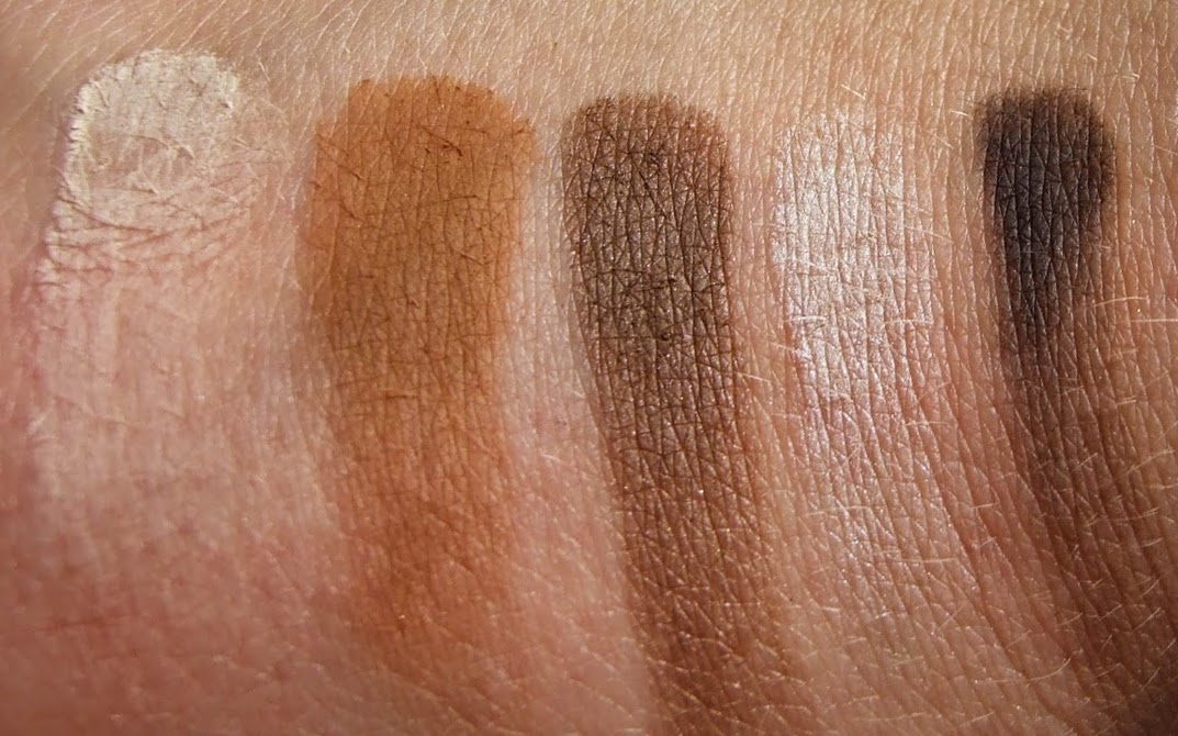 Urban decay pulp fiction Eyeshadow palette collection swatches on hand review