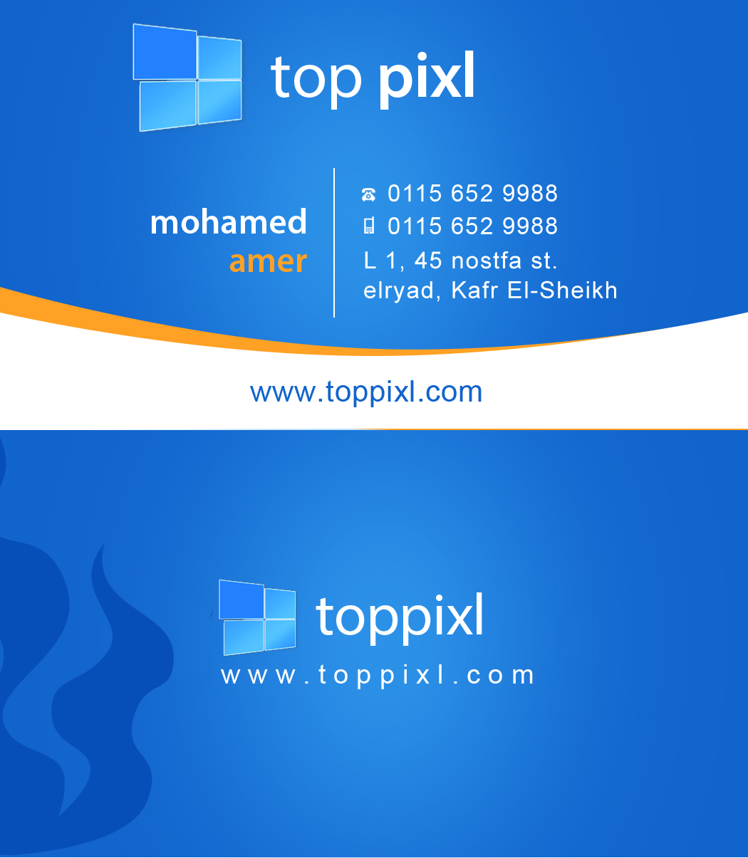 personal card psd