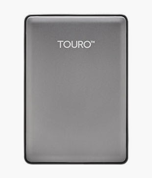 Buy HGST Touro S 1TB Portable Hard Disk 7200RPM (Silver) Rs 3,420 only at Snapdeal