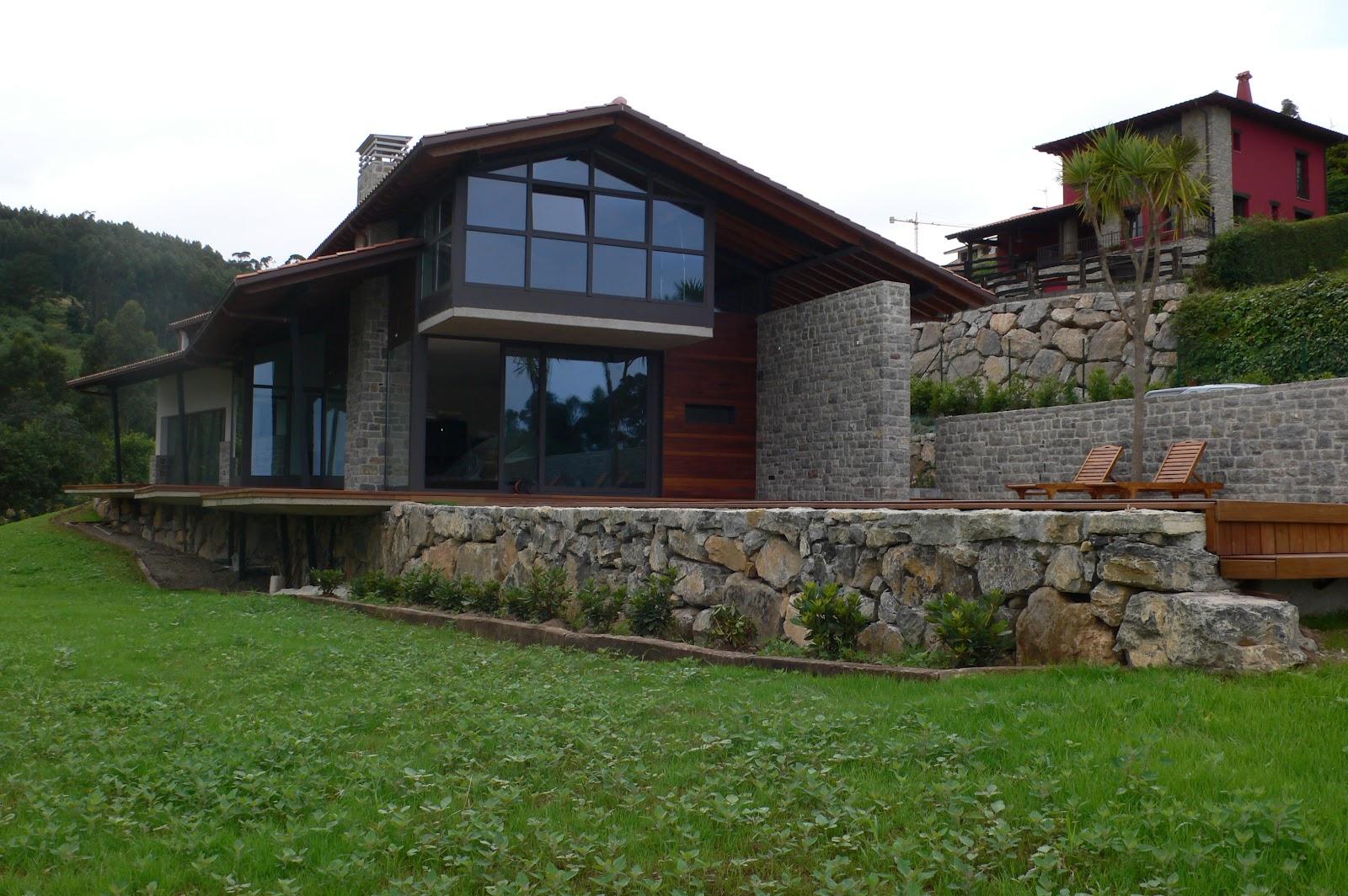 Eduardo fernandez arquitecto vivienda unifamiliar en el - Arquitectos asturias ...