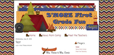 teacher blogger design makeover