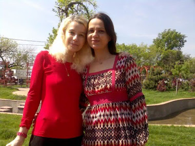 Rodica Botez si Olivia Marcov anul IV USH  Drept aici in sos Berceni 24