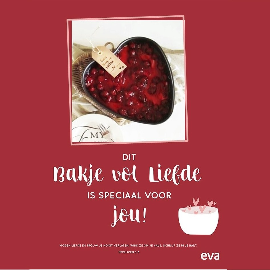 🖤 Eva`s bakje vol liefde