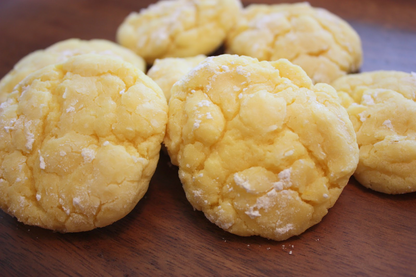 cooking with crystal: Gooey Lemon Butter Cookies