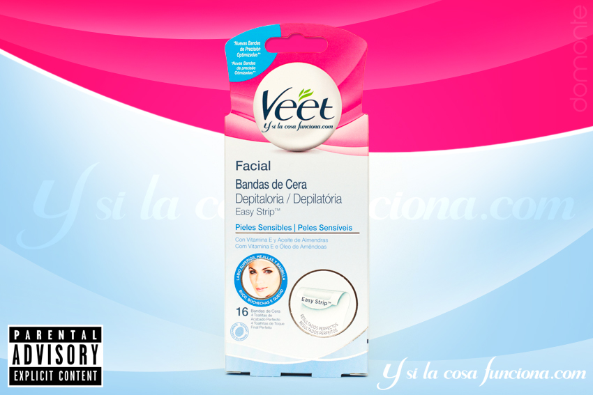 Easy Strip Veet Pieles Sensibles Portada