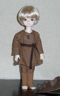 ball joint doll custom sewing
