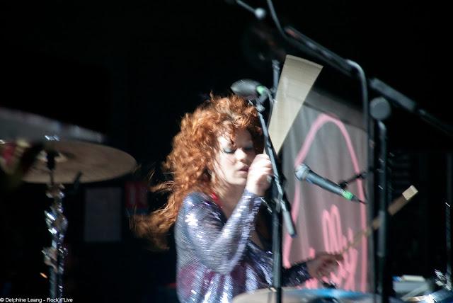 Deap Vally Julie Lindsey Toulouse Bikini Mumford & Sons Rock'n'Live Delphine Leang