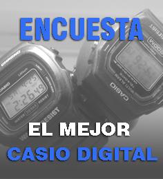 Elije el mejor digital de Casio