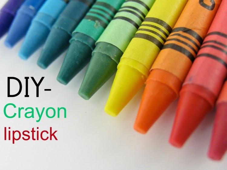 DIY- Crayon lipstick
