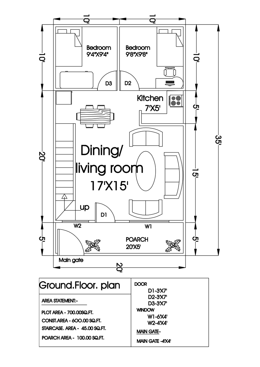 Autocad Work Floor Plan Posted By Interior Designer