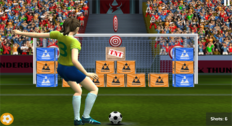 World Football Cup: Real Flick Soccer Brazil 2014