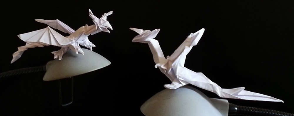 origami darkness dragon instructions
