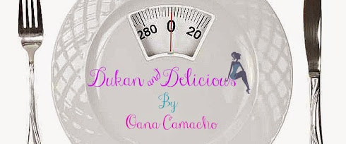 """Te invit pe pagina de FaceBook """"Dukan & Delicious"""" sa vorbim despte Dieta Dukan !"""