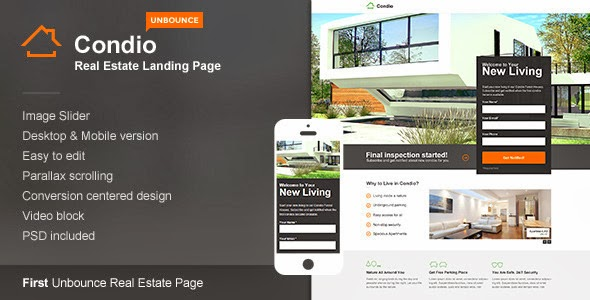 Premium Real Estate Landing Page