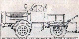 Схематический чертеж трактора ХТЗ Т-90 Украина
