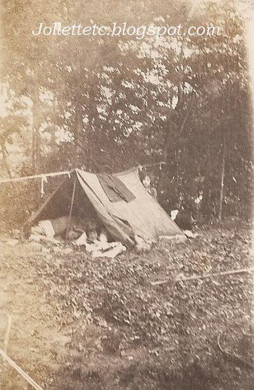 Violetta Davis camping trip around 1922-23  http://jollettetc.blogspot.com