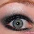 Napi smink / daily makeup - Back to orange & black eyes with unicorns