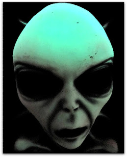 Máscara de extra-terrestre, Museu Ufologia, Itaara (RS)