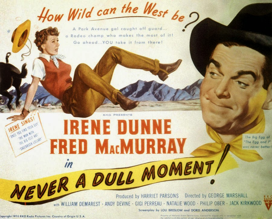 NEVER A DULL MOMENT (1950) WEB SITE