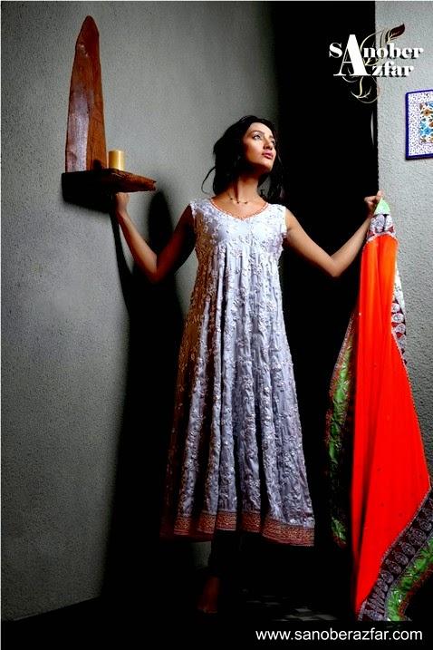 Sanober Azfar Eid Collection 2014