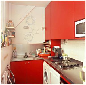 Decora y disena 10 fotos de cocinas peque as en forma de - Cocinas en u pequenas ...
