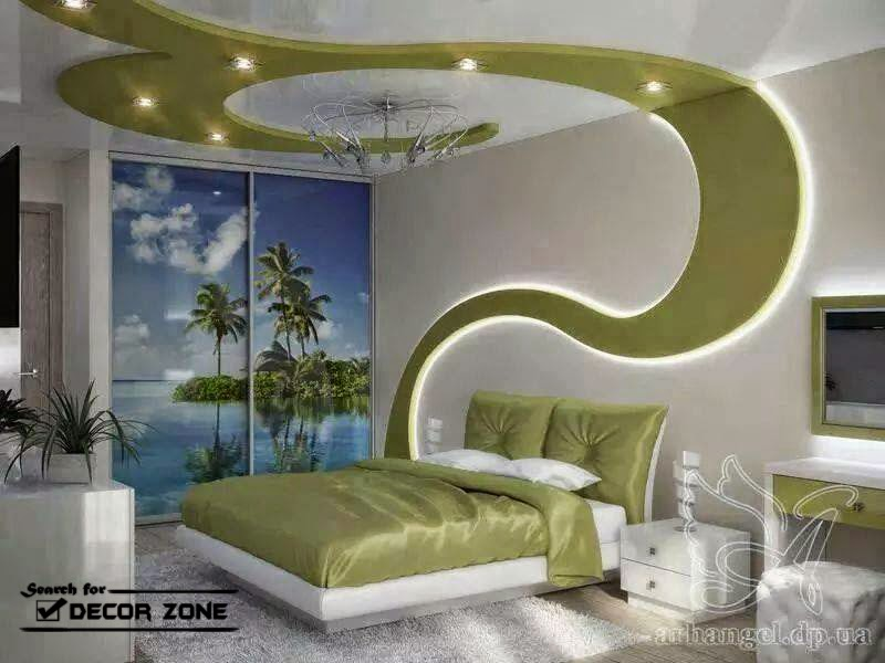 New false ceiling designs with LED ceiling lights