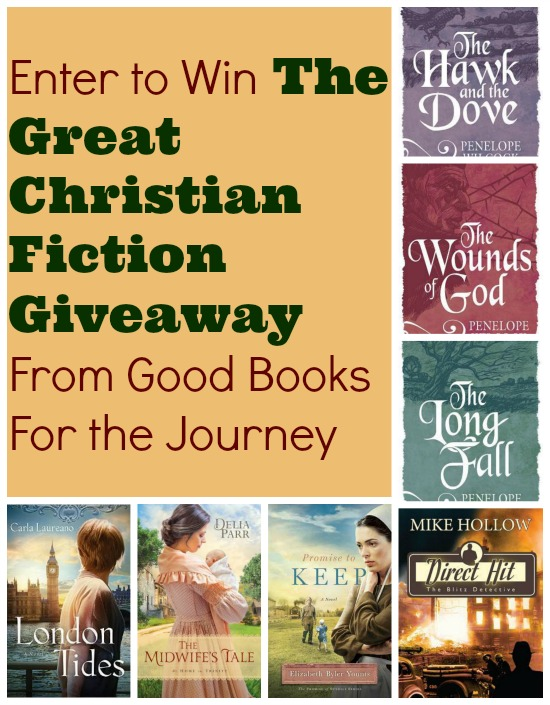 Giveaway of seven great Christian fiction books