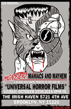 Monsters, Maniacs and Mayhem