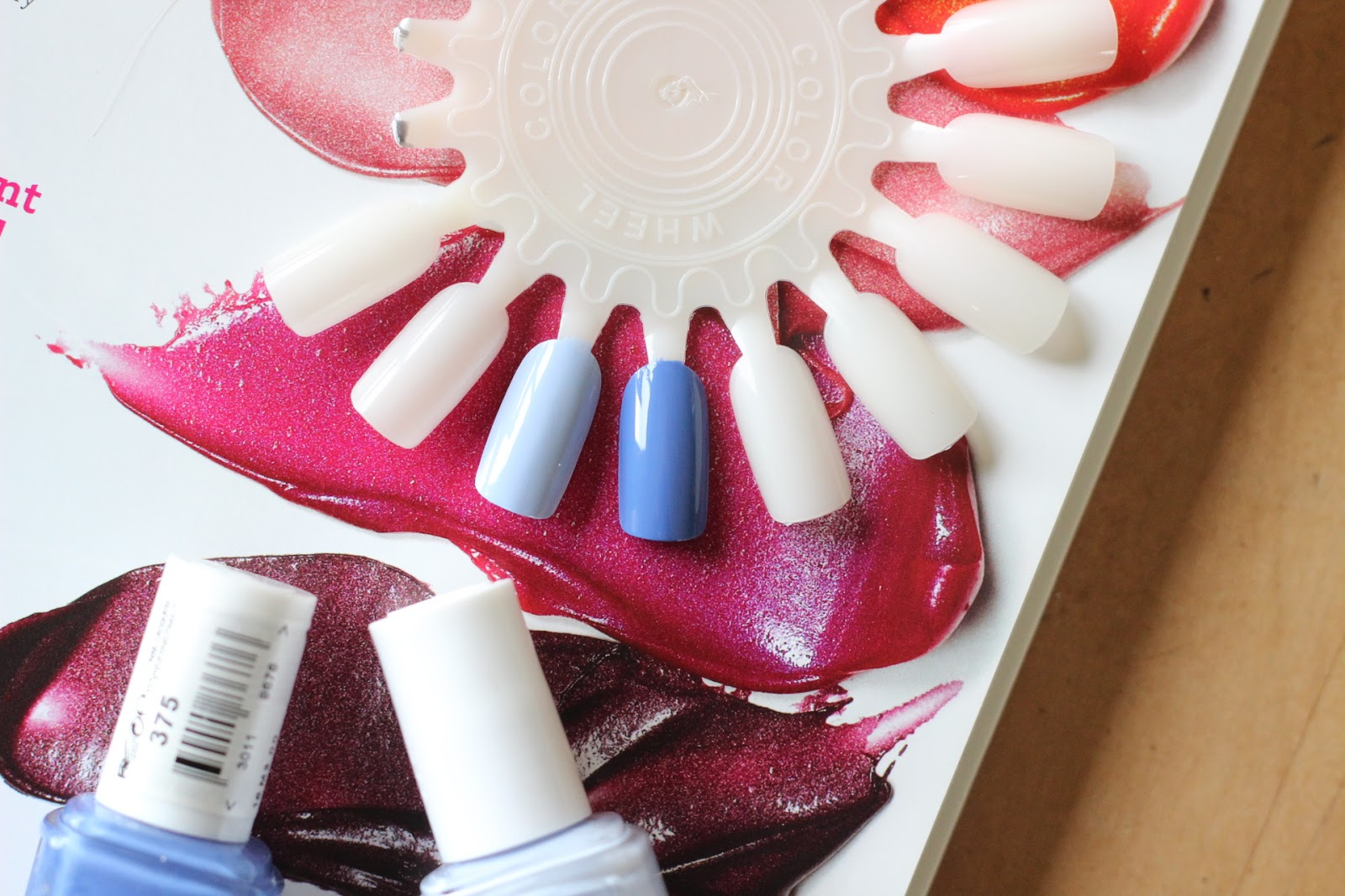 Essie Summer 2015- The Blues  Swatches