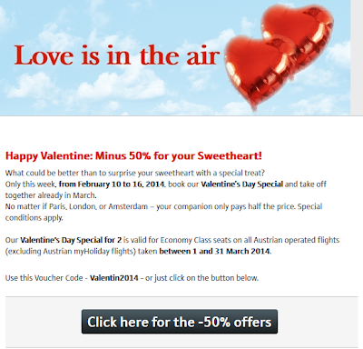 Discount code Austrian Airlines