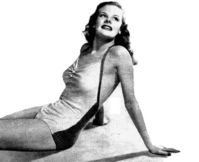 Free 1940's Knitting Pattern- Water Sprite Swim-Suit