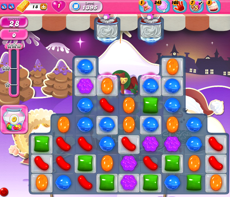 Candy Crush Saga 1395