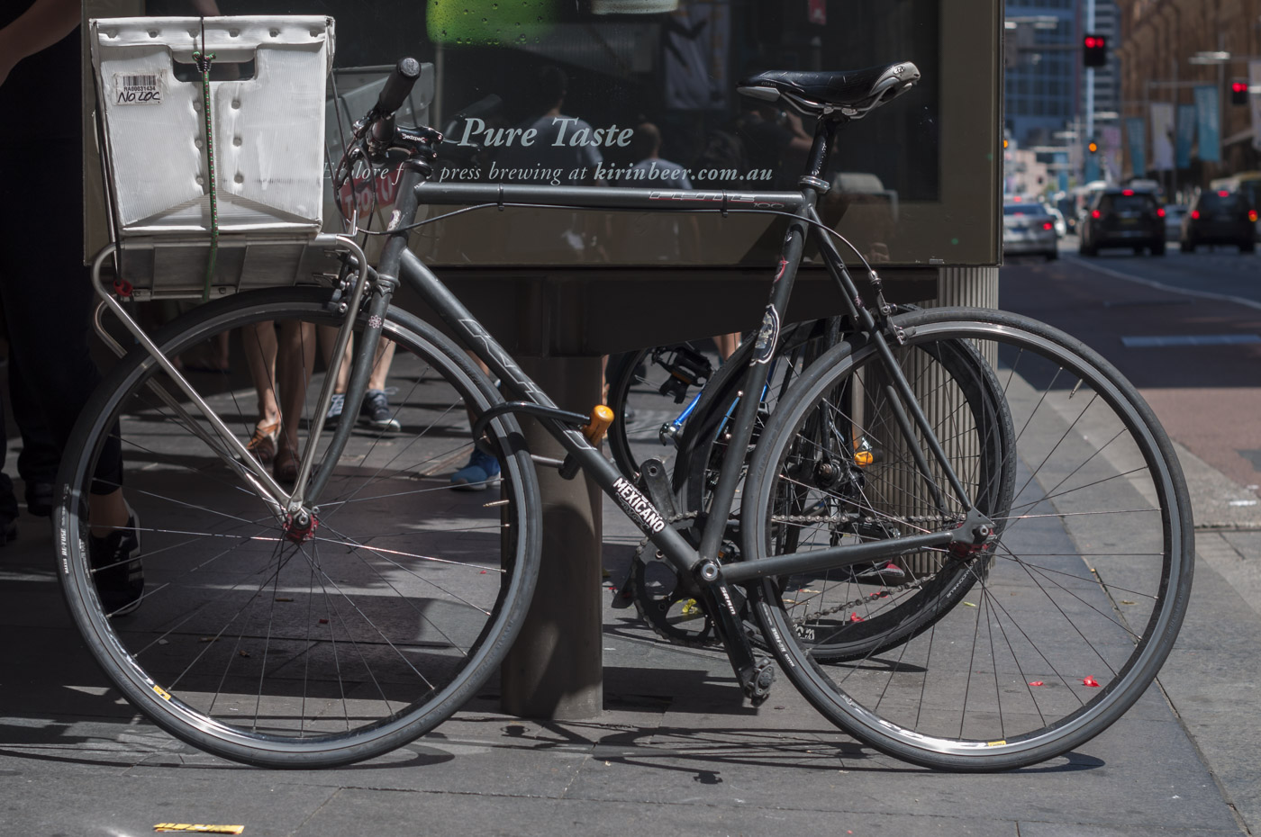 Australia australia post bespoke bicycle bikes on the street biketorialist