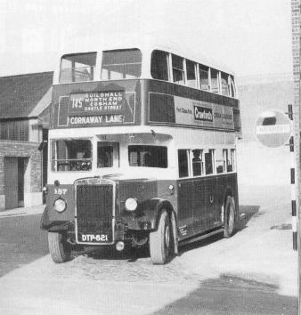 Portsmouth Corporation bus