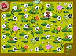 http://www.eslgamesplus.com/numbers-1-100-vocabulary-sentences-esl-vocabulary-and-grammar-interactive-crocodile-board-game/