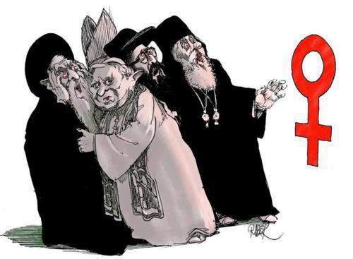 la mujer y la religión
