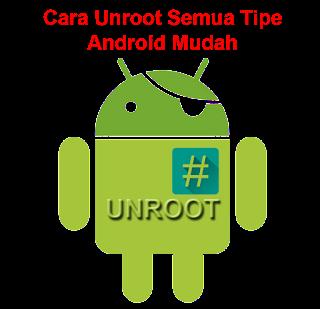 Tutorial Cara Unroot Permanen SuperSU Untuk Semua Tipe HP Android cover
