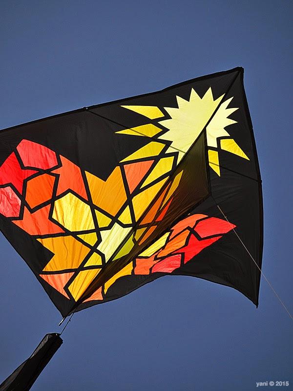 kite festival starburst kite