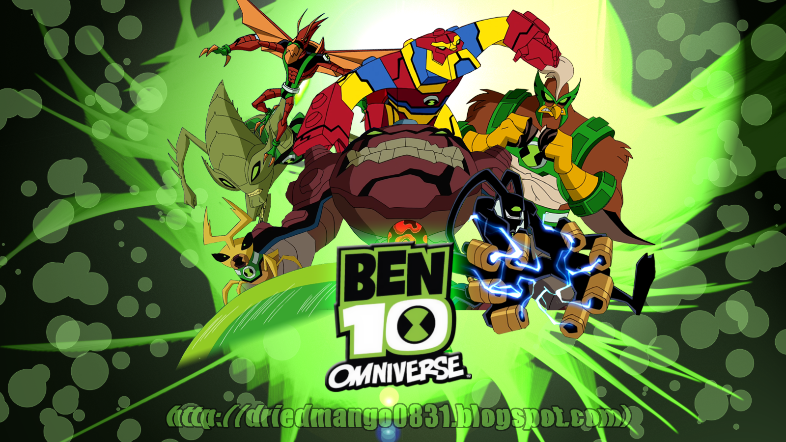Dried mango new ben 10 omniverse wallpapers here are two new wallpapers i made hope you like it voltagebd Choice Image