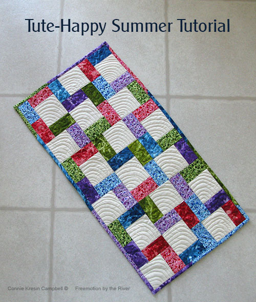 Tute-Happy tablerunner tutorial
