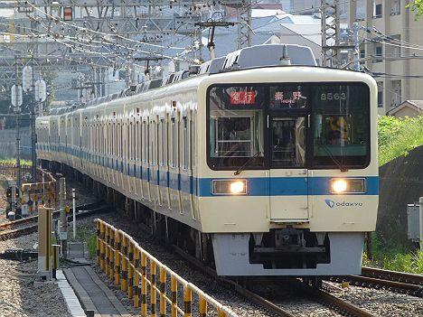 小田急線 急行 秦野行き 8000形(平日1本運行)