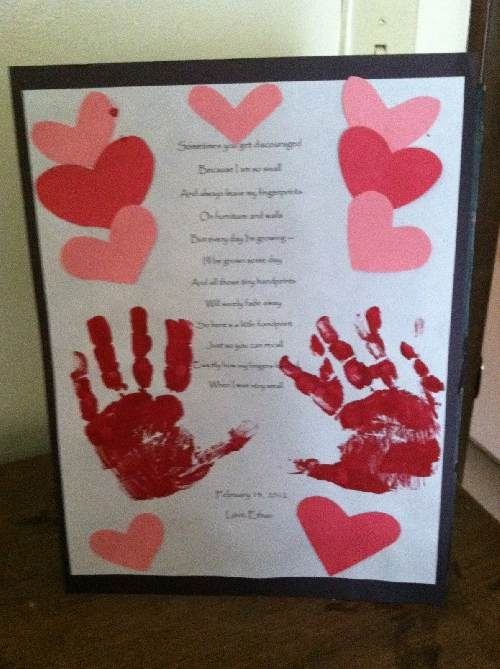 A Poem About Grandfather Day Was Cover By Heart And Hand Crafts To Happy Grandparents Day