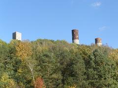 Zamek w miejscowości Chęciny