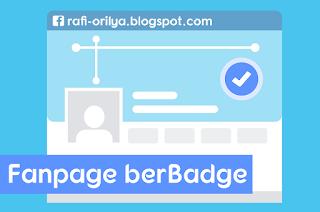 Cara Membuat Fanpage Facebook BerBadge