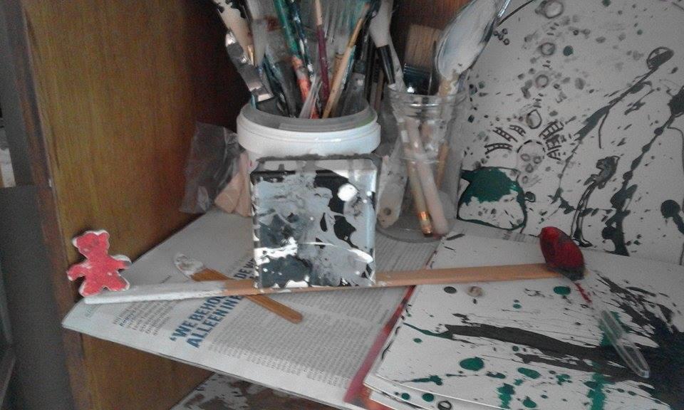 studio cupboard installation