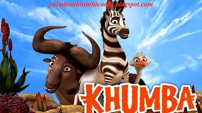 Phim hoạt hình thiếu nhi Chú ngựa Khumba