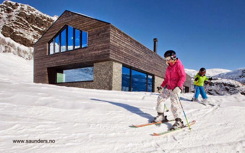 Moderna cabaña en Noruega