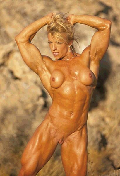1724: Female Body Builder Naked