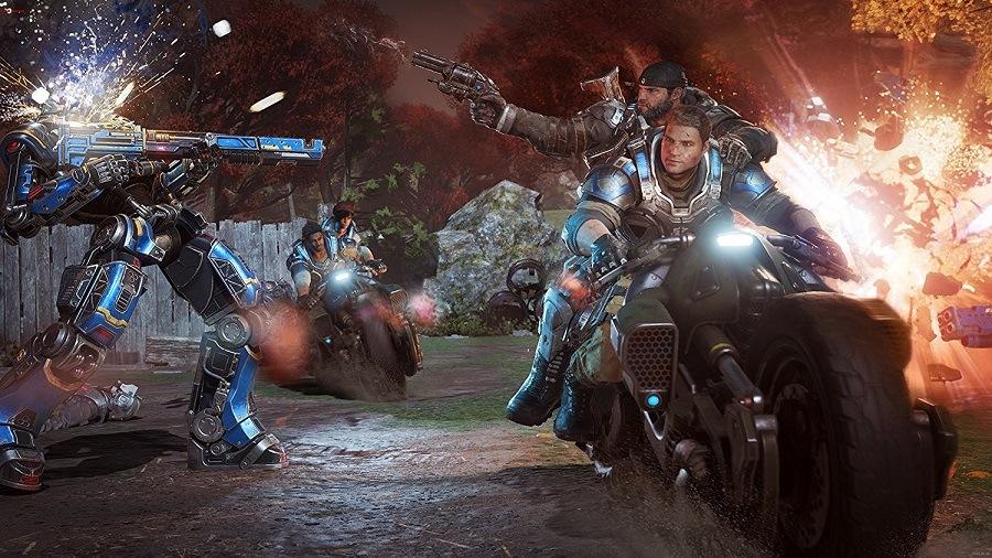 Gears of War 4 2016 Jogo 2 Jogadores  completo Torrent