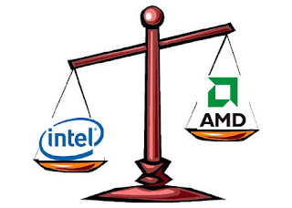 What is the corresponding AMD CPU for INTEL CPU